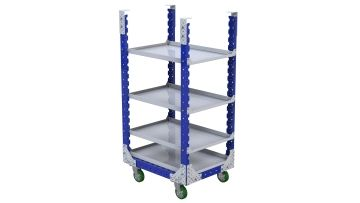 Daughter Cart with shelves