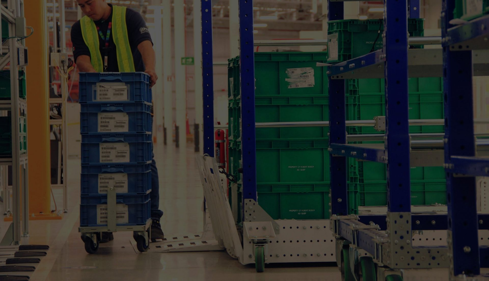 Material Handling Carts by FlexQube