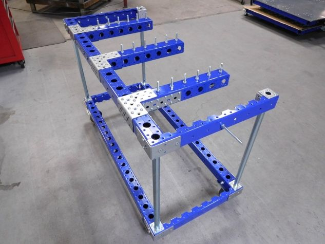 Cart for Hanging Hoses