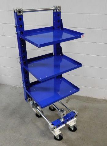 Shelf cart for E-frame