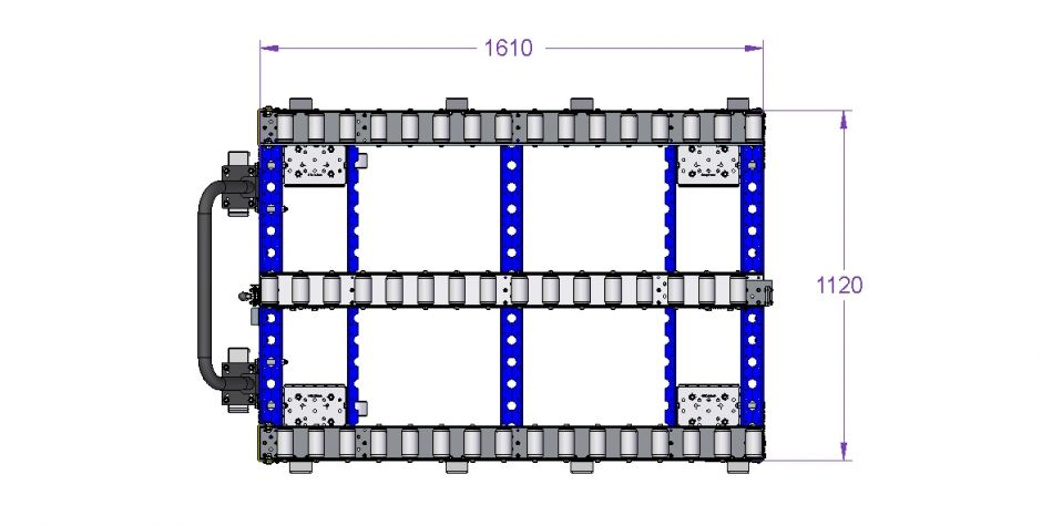Conveyor Cart 1190 x 1610 mm