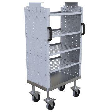 Daughter cart w. 4 shelves