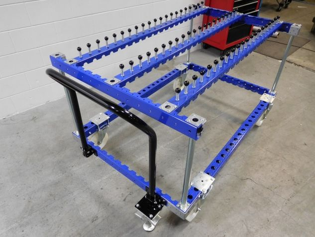 Cart for Hanging Tubes