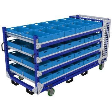 Shelf Cart 1260 x 2870 mm