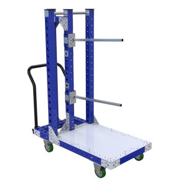 Heavy-duty hanging cart.