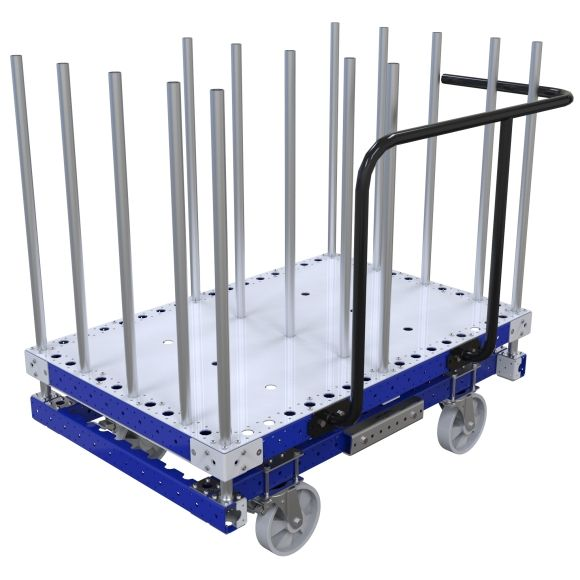 This cart is designed to go in an E-frame.