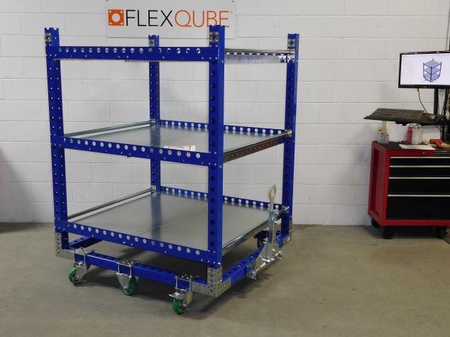 Flat Shelf Cart 55 x 48 inch