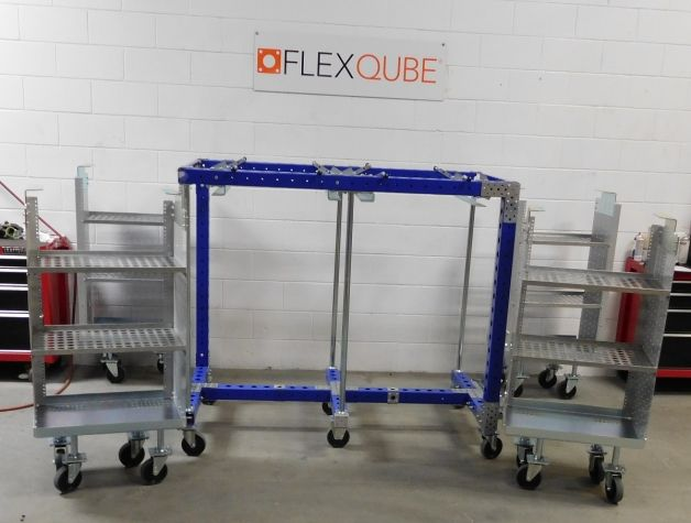 4 in 1 Cart without Top Shelf