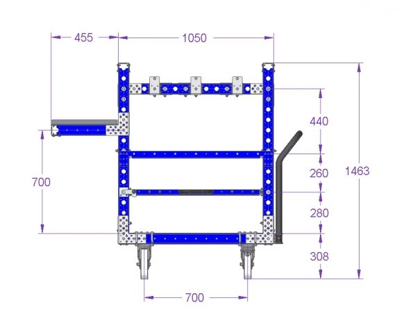 Kit Cart 41 x 30 inch