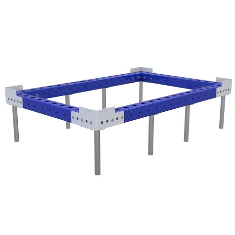 Sub-frame designed to be used in combination with a base cart.