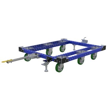 Tuggable pallet cart.
