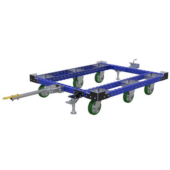 Tuggable pallet cart.
