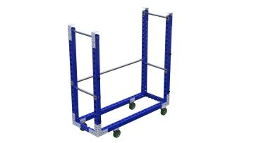 Hanging cart designed to be used in a mother daughter system in combination with Q-100-1336.