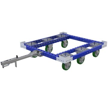 Tugger Cart without flat deck