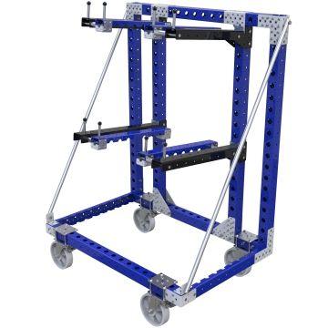 Custom hanging cart