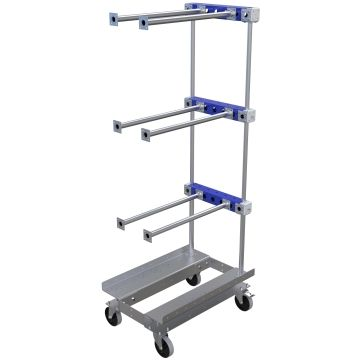 Cart for hanging components