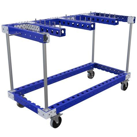 Custom designed hanging cart