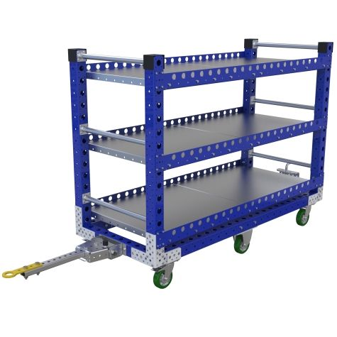 Flat Shelf Cart - 1680 x 700 mm