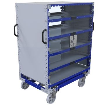 Flat Shelf Cart - 1260 x 840 mm