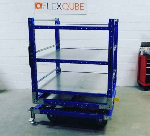 Rotating Shelf Cart 50 x 50 inch