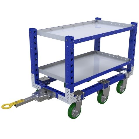 Shelf Tugger Cart - 700 x 1330 mm