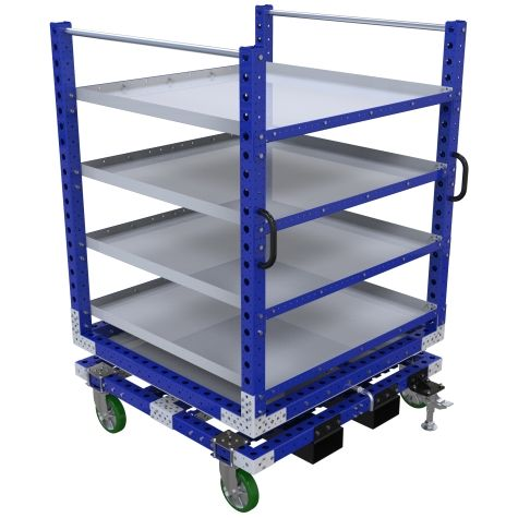 Rotating Shelf Cart