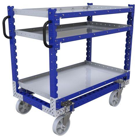 Flat Shelf Cart - 700 x 1260 mm