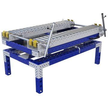 Rotating Roller Rack - 840 x 1470 mm