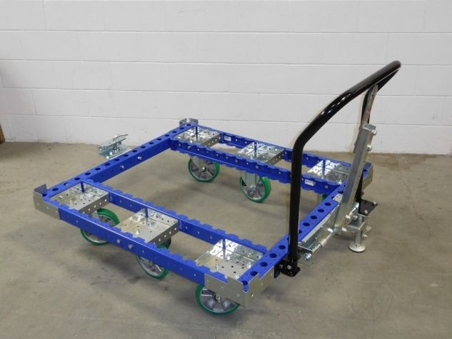 Tugger Cart with Removable Handle Bar 48 x 45 inch