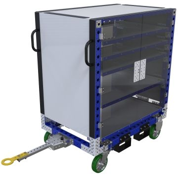 Extendable Shelf Cart - 840 x 1260 mm