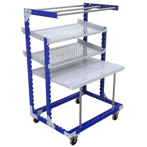 Workstation Cart – 910 x 1260 mm