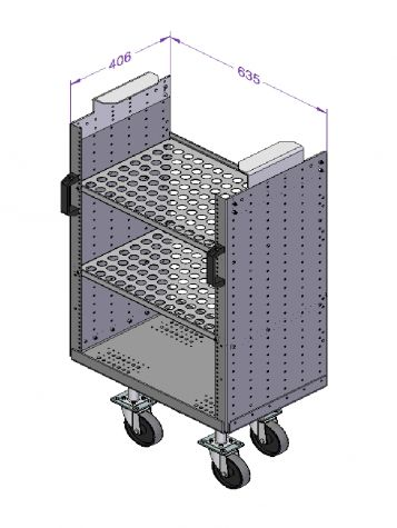 Daughter cart with Handlebar