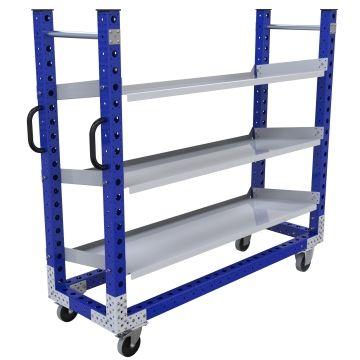 Flow Shelf Cart - 560 x 1750 mm