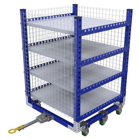 Flat Shelf Cart – 1260 x 1260 mm
