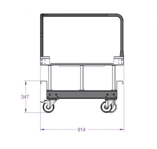Half EUR-Pallet Cart for STILL Liftrunner E-Frame