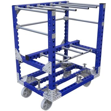 Specially designed kit cart