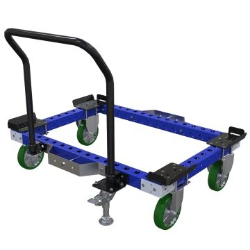 Push cart for pallets and containers