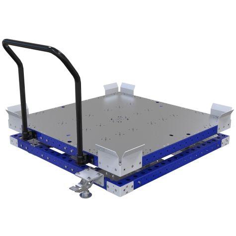 Rotating Pallet Cart