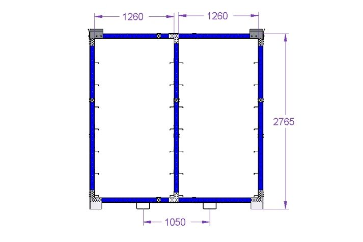 Window Cart 2730 x 1750 mm