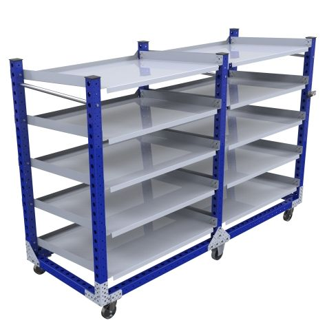 Flow Shelf Cart