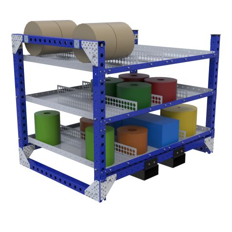 Flat Shelf Rack – 1190 x 1680 mm