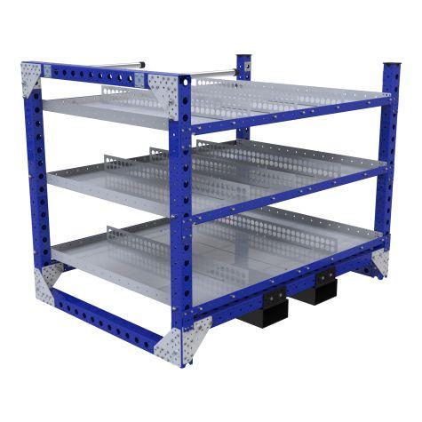 Flat Shelf Rack – 1190 x 1680 mm0
