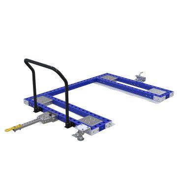 Pallet Tugger Cart - 1330 x 1750 mm