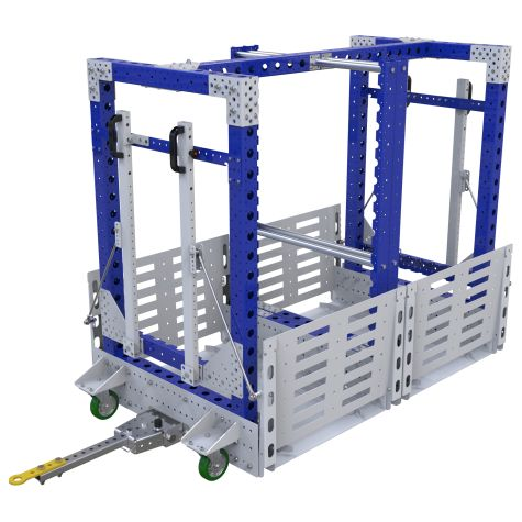 Mother Cart - 2 in 1 - 840 x 1610 mm