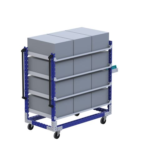 Flat Shelf Cart - 770 x 1470 mm