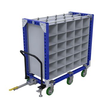 Compartment Cart - 770 x 1610 mm