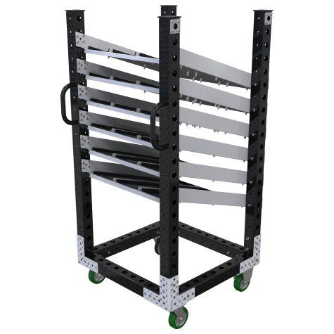 Flow Shelf Cart - 770 x 770 mm