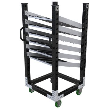 Flow Shelf Cart - 770 x 770 mm