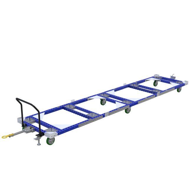 Pallet Tugger Cart - 1190 x 5390 mm