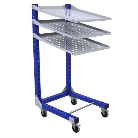 Flow Shelf Cart - 770 x 910 mm